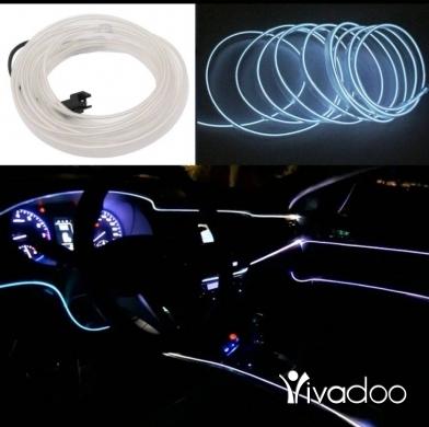Car Parts & Accessories in Achrafieh - حبل اضاءة نيون للسيارات