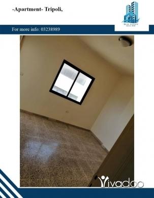 Apartments in Tripoli - شقة للايجار في طرابلس نقابة الاطباء