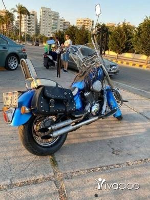 Motorbikes & Scooters in Tripoli - honda steed 400cc look shadow