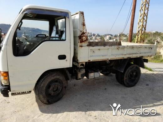 Vans, Trucks & Plant in Moughaïrieh - أسوزو موديل ٩٩ مازوت قلاب شركه
