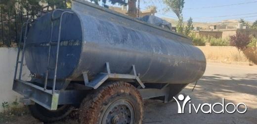 Vans, Trucks & Plant in Chmestar - صهريج مياه ٢٢ برميل مع موتر مياه و نبريش