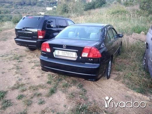 Honda in Baysour - Honda civic for sale dollar aw lebneni 7asab se3er saref