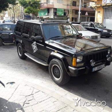 Jeep in Sin el-Fil - Jeep