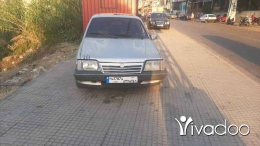 Opel in Akkar el-Atika - اوبل اسكونا موديل ٨٦