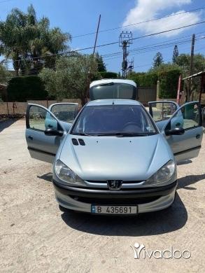 Peugeot in Dahr el-Ain - Pego 206 model 2001