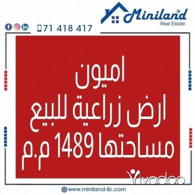 Land in Amioun - اميون ارض زراعية للبيع