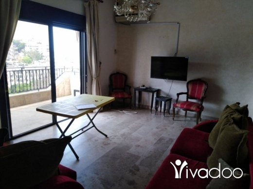 Apartments in Dbayeh - 90m in Awkar for rent