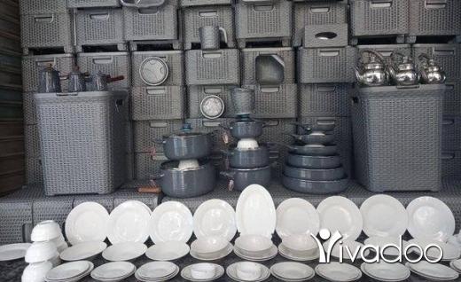 DIY Tools & Materials in Tripoli - عرض اليوم طقم مطبخ لون رمادي