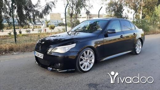 BMW in Tripoli -  BMW E60 525 / 2004
