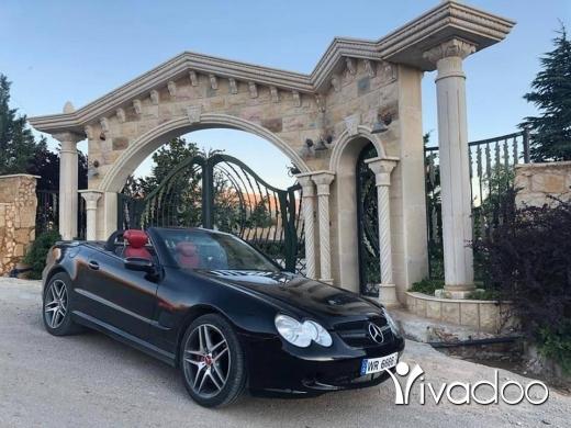 Mercedes-Benz in Baalback - Mercedes SL 500