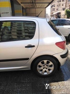 Peugeot in Tripoli - ٣٠٧ موديل ٢٠٠٥