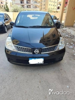 Nissan in Tripoli - نيسان تيدا  ٢٠٠٨