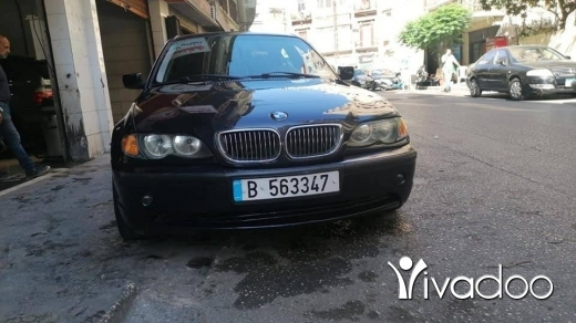 BMW in Tripoli - بأم نيو بوي ٣٢٠
