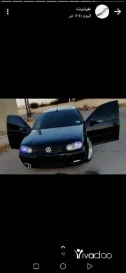 Volkswagen in Saida - سياره غولف خارق النظافه