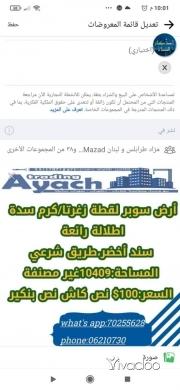 Land in Abdul Latif El Bissar - أرض زغرتا