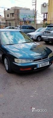 Honda in Beirut City - هوندا اكورد موديل ١٩٩٧