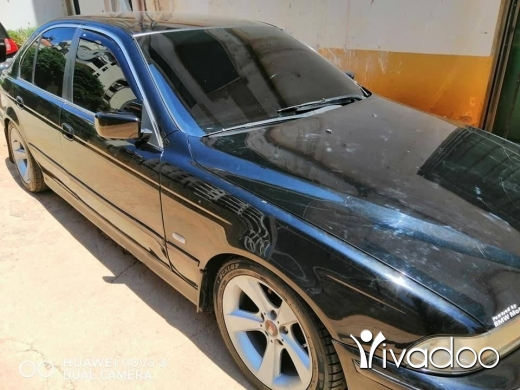 BMW in Tripoli - بأم ٥٢٨ تمساح موديل ٩٧