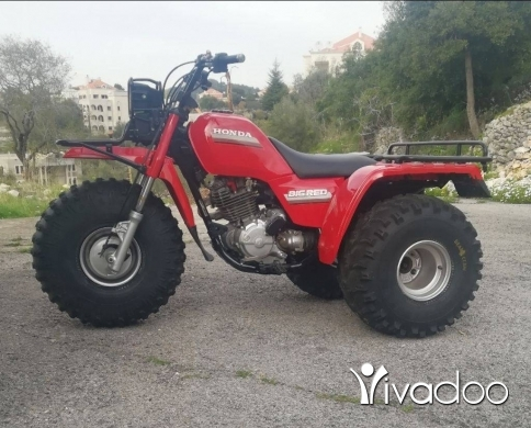 Motorbikes & Scooters in Jbeil - Atc atv honda big red 250es for offroad model 1985