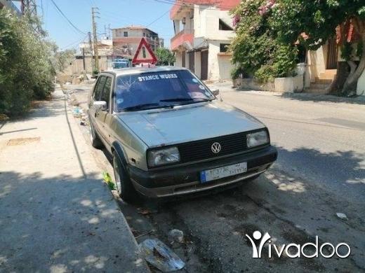 Volkswagen in Halba - موديل 1989 انقاد