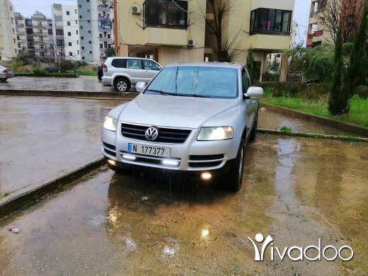 Volkswagen in Abou Samra - Touareg with special number