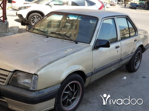 Opel in Tripoli - موديل ٨٨ انقاض