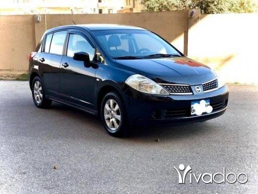 Nissan in Tripoli - Nissan Tiida (2008)
