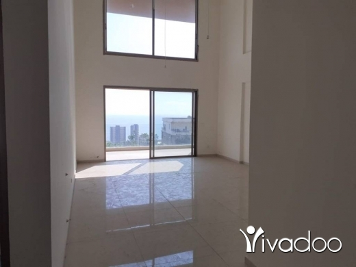 Duplex in Kfar Yassine - L08141 -Duplex for Sale in Kfaryassine with Open Sea View - Cash!