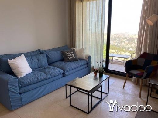 Duplex in Fakra - L08095 - Fully Decorated  Furnished Duplex in Faqra - Cash!
