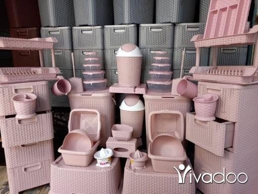 DIY Tools & Materials in Beirut City - طقم بلاستيك3 الوان