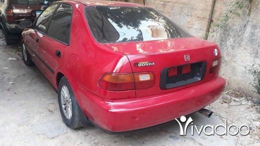 Honda in Tripoli - هوند  مودل ٩٢