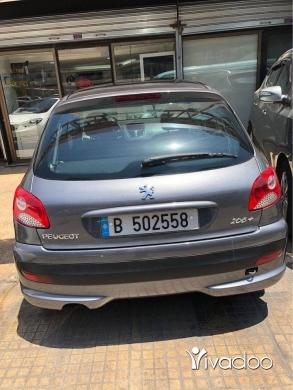 Peugeot in Beirut City - Peugot 206+ 2012