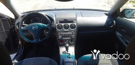 Mazda in Tripoli - مازدا ٦ موديل ٢٠٠٥
