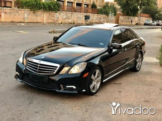 Mercedes-Benz in Tripoli - Mercedes E350 (2011)
