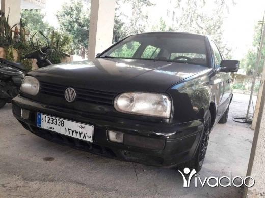 Volkswagen in Choueifat - غولف ٣
