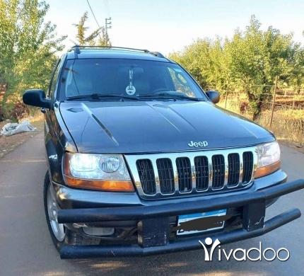 Jeep in Baalback - Grand Cherokee 2002
