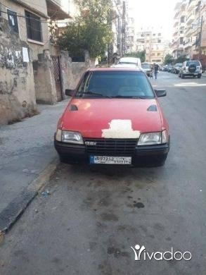 Opel in Tripoli - اوبل موديل ٨٥