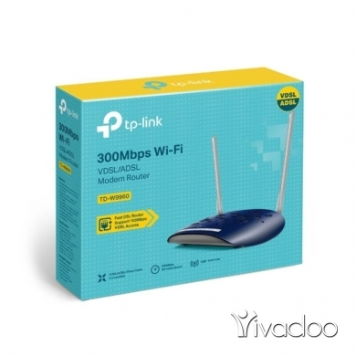 Computers & Software in Zalqa - Ogero Approved, TPLINK 300Mbps Wireless N VDSL/ADSL Modem Router.
