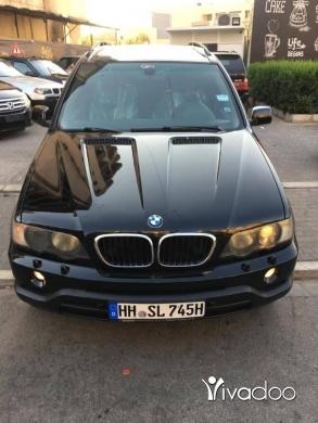 BMW in Tripoli - X5 model 2001