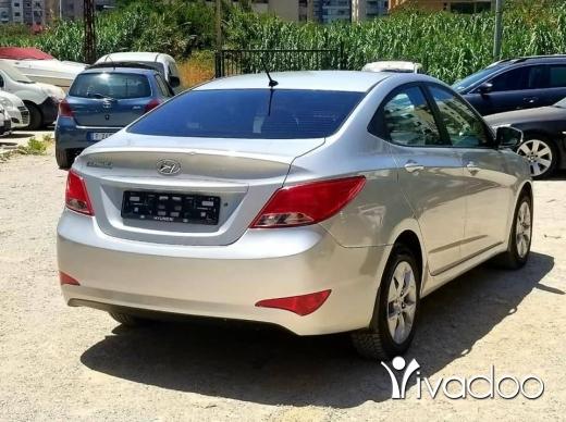 Hyundai in Tripoli - هيونداي سولاريس ٢٠١٧