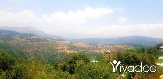 Terrain dans Kfar Zebian - L08158 - Land for Sale in Kfarzebian with Panoramic View- Cash!