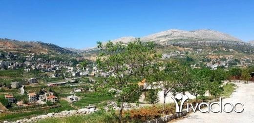 Terrain dans Kfar Zebian - L08043 - Land for Sale in Kfarzebian with Panoramic View - Cash!