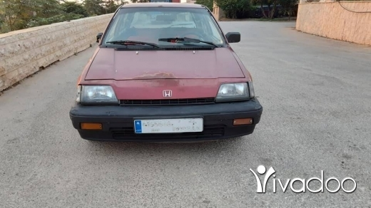 Honda in Tripoli - هوندا سيفيك موديل ٨٦