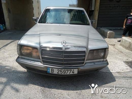 Mercedes-Benz in Tripoli - 280 صندوق 500
