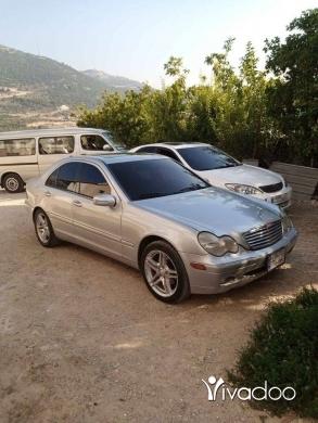 Mercedes-Benz in Tripoli - Mercedes C240 . model 2002