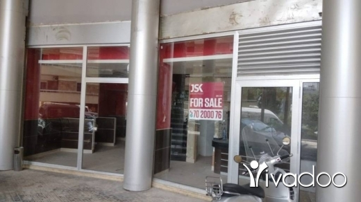 Shop in Achrafieh - L01912- 148 sqm Shop For Sale In Achrafieh - Cash or Equivalent in Check!