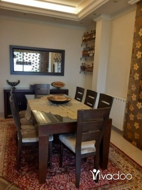 Apartments in Dbayeh - L07868- Furnished  Decorated Apartment for Sale in Bsalim with a Great View - Cash!