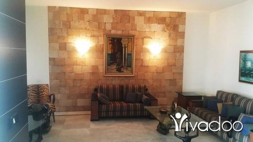 Apartments in Sahel Alma - L08044- Fully Decorated Apartment for Rent in Sahel Alma with Partial Sea View - Cash!