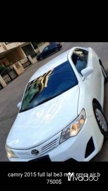 Toyota in Beirut City - كامري للبيع