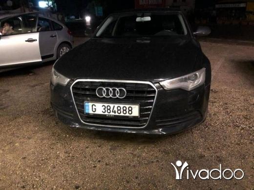 Audi in Tripoli - Audi A6 2012