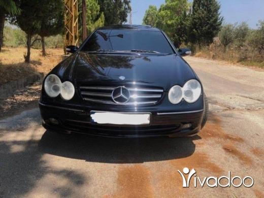 Mercedes-Benz in Tripoli - CLk 320 2003